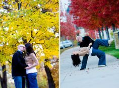 Amazing fall colors...... Engagement photos!