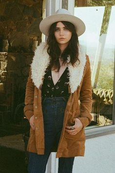 Free People Lady Lane Fur Jacket / Prism Boutique