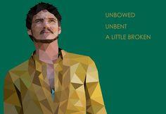 Unbowed, unbent, a little broken