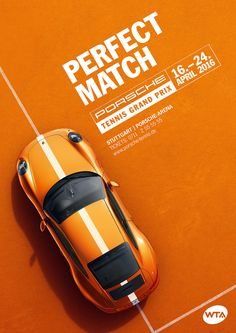 Porsche Tennis Grand Prix 2016 on Behance