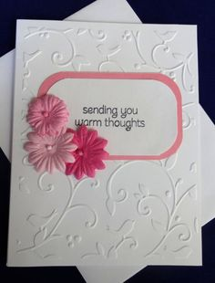 Nice get well card! Simple