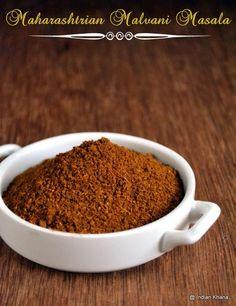 Indian Khana: Homemade Maharastrian Malvani Masala Recipe