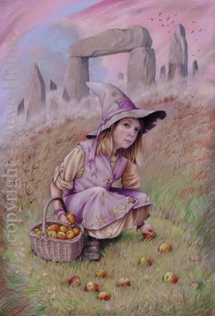 Abigail Cotton - Wildwood Witches -Art by Steve Hutton