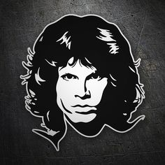 Pegatinas: Jim Morrison The Doors #coche #pegatina #sticker