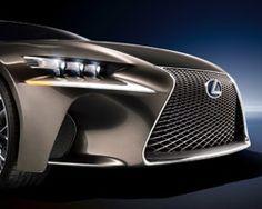 lexus LF-CC hybrid concept car, nice taillight!