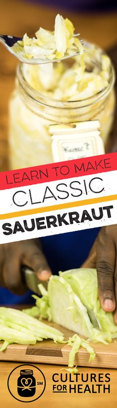 Sauerkraut is the quintessential fermented vegetable. We've picked our favorite fermenting supplies and ingredients to help you make it at home. All you supply is the cabbage and you'll be on your way to making homemade sauerkraut in no time!