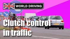 Clutch control in traffic driving lesson - learning to drive a manual/st. Driving Test Tips, Driving Instructions, Learning To Drive, Drive A, Driving School, Lessons Learned, Helpful Hints, Manual, Cars