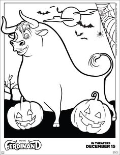 Straight from the hit Fox Animation movie, Ferdinand comes to the coloring pages. This incredible pack of sheet collection includes Ferdinand the Bull Bunny Coloring Pages, Halloween Coloring Pages, Cartoon Coloring Pages, Disney Coloring Pages, Christmas Coloring Pages, Free Printable Coloring Pages, Coloring Pages For Kids, Coloring Sheets, Coloring Books