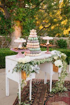 Read More: http://www.stylemepretty.com/2015/01/08/elegant-blush-ivory-outdoor-wedding/