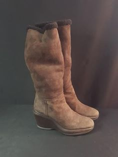 f5ac5fb8f3a Hogan Shearling Boots Designer Fashion Resale Store - Wells Resale and  Company