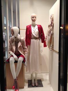 www.l-ismore.be Christmas window display at Lorca Wemmel