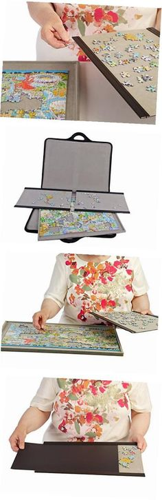Storage Mats and Glue 180021: Jigsort 500 - Jigsaw Puzzle Case For Up To 500 Pieces From -> BUY IT NOW ONLY: $98.24 on eBay!