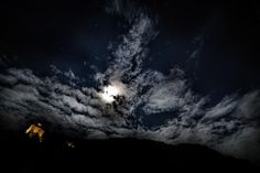 Clouds and stars on the castle by Alessandro Bartolini on 500px