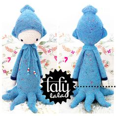 Knitting Pattern For Baby Oleg : Ravelry: Demi Octopus pattern by Jennifer Wang If I could make this I would p...
