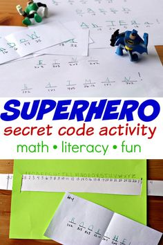 Compute & Find: A Secret Code Activity for Kids