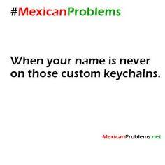 Mexican Problem #9485 - Placita Olvera, Los Angeles en donde pueden encontrar sus nombres en llaveros.