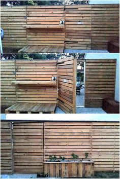 Protection around the home is mandatory and a person should pay attention to the safety when there are small kids in home. This upcycled wood pallet patio garden fence wall idea is great to make the home look unique and it also increases the safety, so the kids can play without any worry.