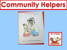 Ideas for teaching about community helpers in your preschool or kindergarten classroom.