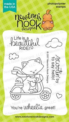 We've just added Newton Scoots By ... to the Kat Scrappiness Store!  More info here:  http://www.katscrappiness.com/products/newton-scoots-by-3x4-clear-stamp-set-by-newtons-nook-designs?utm_campaign=social_autopilot&utm_source=pin&utm_medium=pin