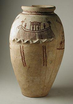 decorated 2 predynastic vessel 5500bc