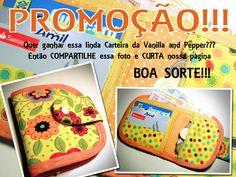 Vanilla and Pepper - Bolsas Femininas Artesanais: Minha Primeira Promoção