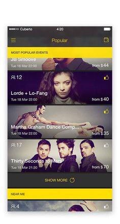 Selected works of 2015 on App Design Served