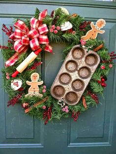 Cute kitchen wreath