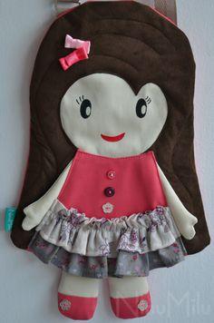 NinuMilu - torebki lalki - handbag dolls for girls: Poszła Karolinka...?