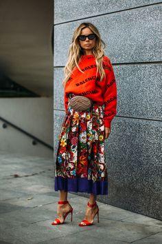 Attendees at Paris Fashion Week Spring 2019 - Street Fashion