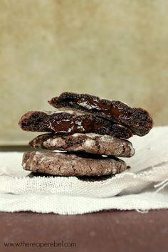 Mint Chocolate Truffle Cookies - Food Porn
