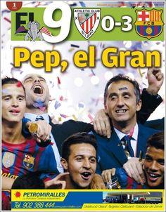 Prensa deportiva del 26 de mayo 2012 – Barcelona FC. Campeón de la Copa de España