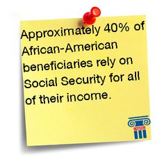 Approximately of African-American beneficiaries rely on Social Security for all of their income. Social Security, Tired, African, Money, Silver, Im Tired