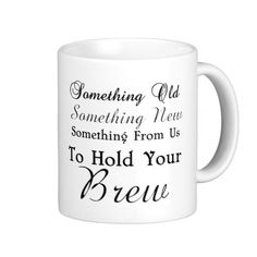 coffee or tea mug wedding gift