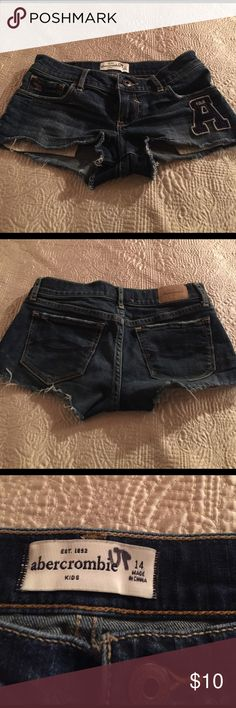 Abercrombie and fitch jean shorts They are for kids size 14 very cute Abercrombie & Fitch Shorts Jean Shorts