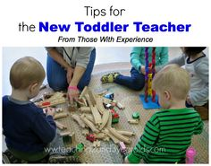 Teaching 2 and 3 Year Olds: Tips for New Toddler Teachers I think this is a perfect example if how toddler/preschool teachers should be. A refresher is always a good idea. Toddler Teacher, Old Teacher, Toddler Classroom, Toddler Learning, Preschool Classroom, Preschool Learning, Toddler Preschool, Preschool Activities, Classroom Ideas