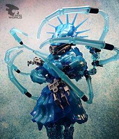 Seltiast (Goddess of Inspiration Bionicle Heroes, Lego Bionicle, Legos, Lego Bots, Lego Creative, Lego Sculptures, Amazing Lego Creations, Lego Mechs, Hero Factory