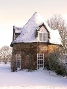 Round house near Little Thetford, Near Ely, England