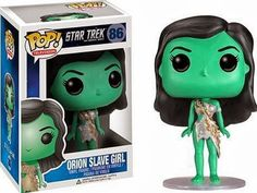 Funko POP Star Trek: Orion Slave Girl Action Figure @ niftywarehouse.com #NiftyWarehouse #StarTrek #Trekkie #Geek #Nerd #Products