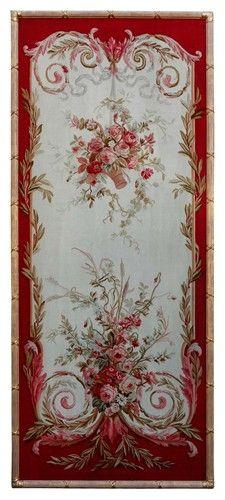 Framed Napoleon III Aubusson Tapestry Panels - $15000.