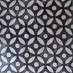 Black and white geometric pattern. Throw pillow, perhaps small wallpapered accent