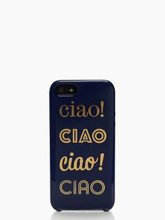 ciao ciao iphone 5 case
