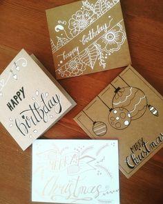 Weihnachts- und Geburtstagskarten
