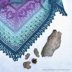 Ravelry: Grinda Shawl MAL pattern by Tatsiana Kupryianchyk