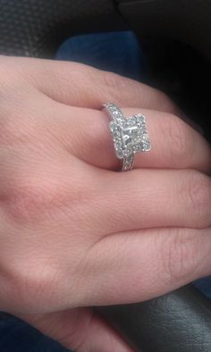 My ENGAGEMENT RING!!!!  :)