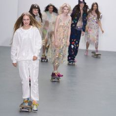 Pin for Later: Ashish Spring 2016 Was the Glacé Cherry on Top of the London Fashion Week Cake