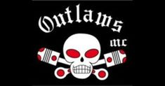 The complete detailed list of one percenters motorcycle clubs in alphabetical order. One percenter bikers such as Hells Angels MC, Outlaws MC & Bandidos MC. Biker Clubs, Motorcycle Clubs, Motorcycle Quotes, Biker News, Mc Logo, Outlaws Motorcycle Club, Famous Outlaws, Sports Flags, American Motorcycles