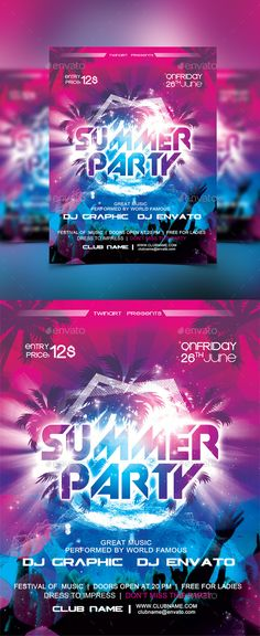 Summer Party Flyer (scheduled via http://www.tailwindapp.com?utm_source=pinterest&utm_medium=twpin&utm_content=post19640914&utm_campaign=scheduler_attribution)