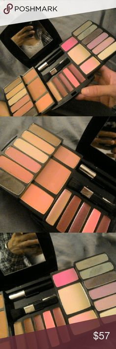 Sephora make up palette Brand new! No box. 10/10 condition From Sephora  Comes with eyeshadow. Lip gloss. Compact powder. Blush and mascara Sephora Makeup Eyeshadow