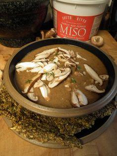 Raw Vegan Cream Shiitake Soup