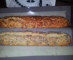 Recette Variante de Baguette magique aux lardons et gruyère par DELPH37 - recette de la catégorie Pains & Viennoiseries